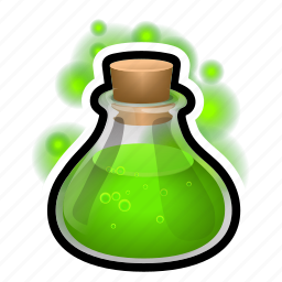 bulb, flask, magic, medieval, potion icon