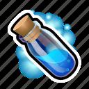 cylinder, flask, magic, medieval, potion