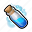 cylinder, flask, magic, medieval, potion icon