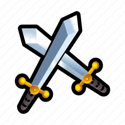 blade, combat, game, iron, medieval, sword, weapon icon