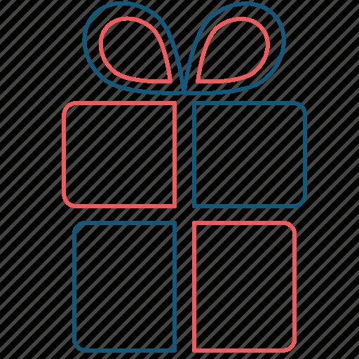 box, christmas, gift, present, surprise icon