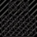 study, wisdom, education, owl, online, learning, keyboard icon