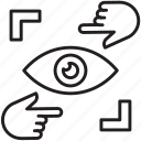 vision, password, show, sight, eye, visionary, view icon