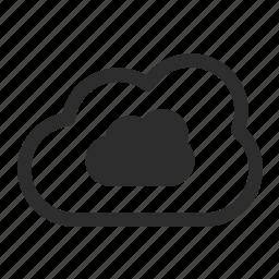 cloud, internet, server icon