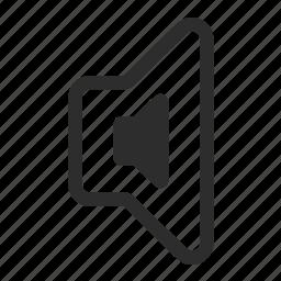 instrument, mute, sound, volume icon