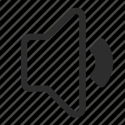 control, medium, voice, volume icon