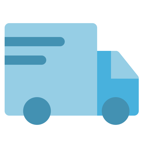 delivery, package, shipping, transport, truck icon