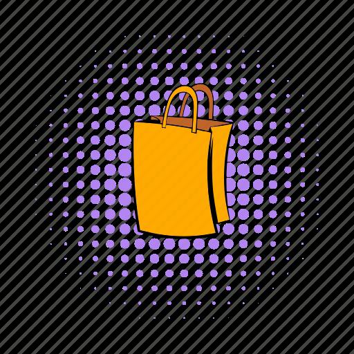 bag, buy, comics, empty, gift, paper, sale icon