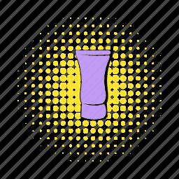 comics, container, cream, package, plastic, tube, violet icon