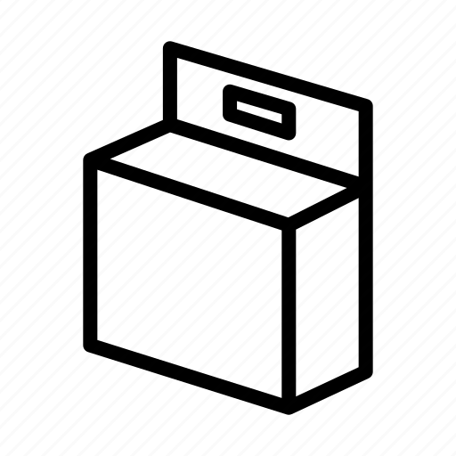 bag, box, fragile, logistics, pack, packaging, packet icon