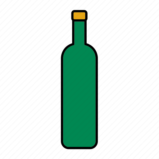 beverage, bottle, drink, glass, packaging, packing, wine icon