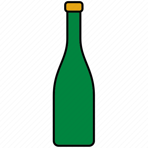 beverage, bottle, champagne, drink, glass, packaging, packing icon