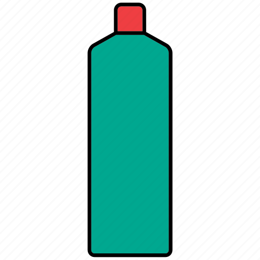 bottle, cleaning product, container, drink, packaging, packing, plastic icon