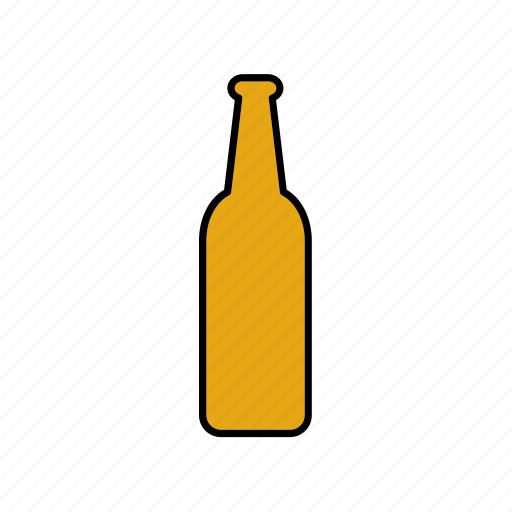 beer, beverage, bottle, container, drink, glass, packaging icon