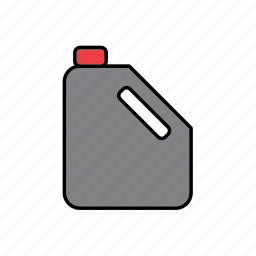 bottle, container, drink, oil, packaging, packing, receptacle icon