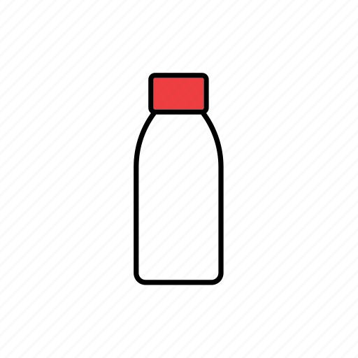 bottle, container, jar, packaging, packing, plastic, pot icon