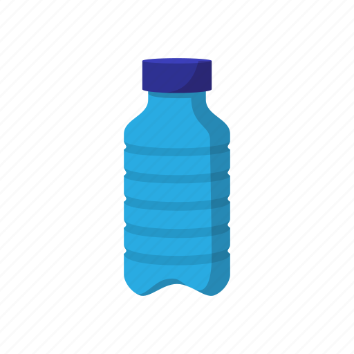 bottle cartoon lid liquid plastic product white icon
