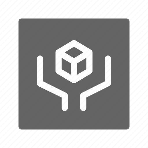 box, handle with care, package icon