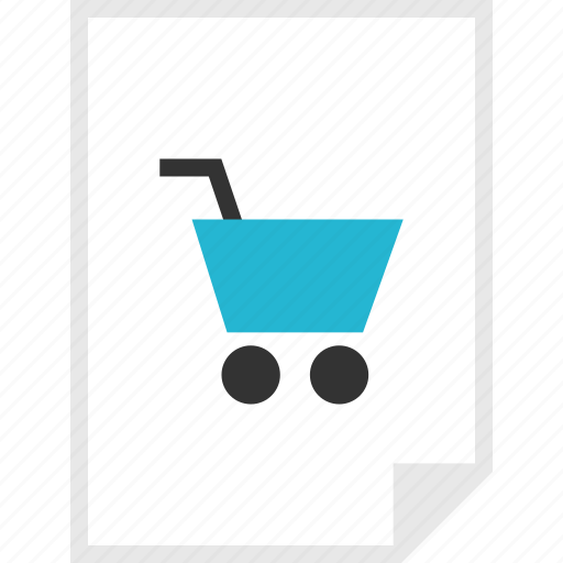 cart, form, layout, page, shop icon