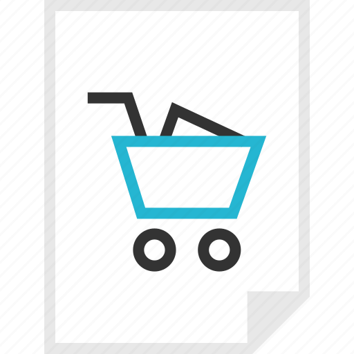 cart, form, layout, page, shopping icon