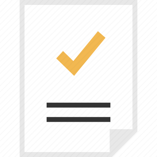 check, form, layout, page icon