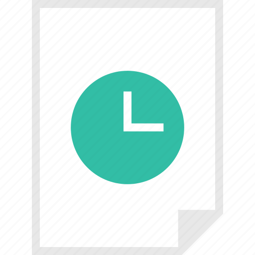 clock, form, layout, page icon