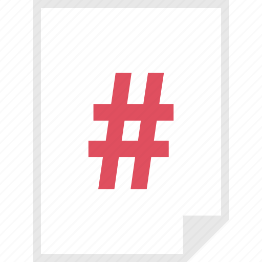form, hashtag, layout, page icon