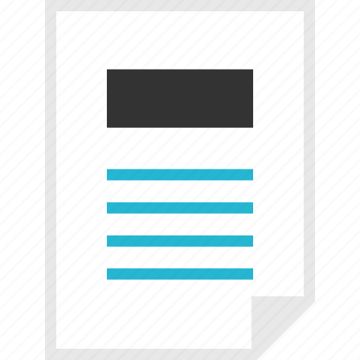form, layout, news, page icon
