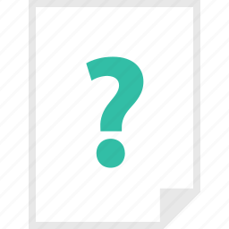 form, layout, page, question icon