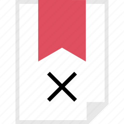 delete, form, layout, page, x icon