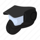 activity, ammunition, cartoon, goggles, mask, military, paintball icon