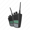 cartoon, decoder, durable, military, radio, tool, transmitter icon
