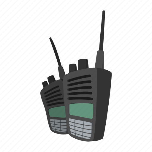 cartoon, decoder, durable, military, radio, tool, transmitter icon