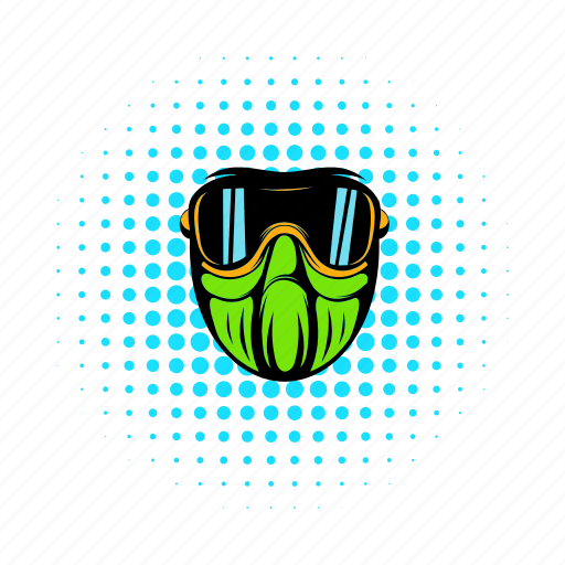 cloak, comics, disguise, guise, mask, stencil, visor icon