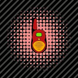 cb, comics, decoder, low-range, lowrange, radio, transmitter icon