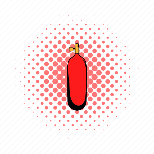 bottle, comics, flask, gas, gauze, gossamer, plastic icon