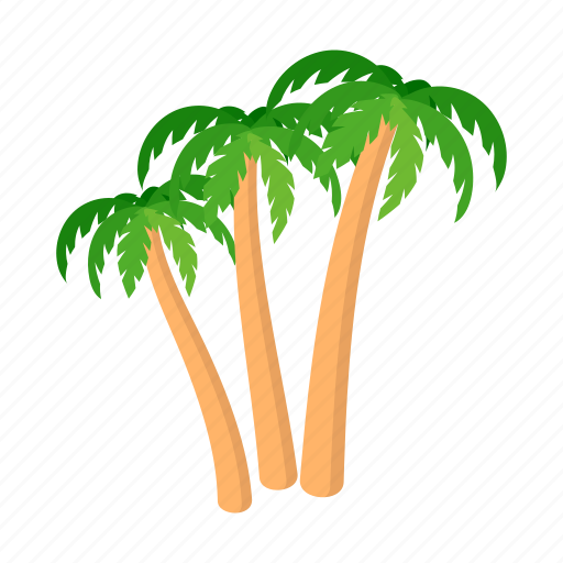 Cartoon of palm trees for Marketplace motors devils lake nd