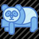 panda, bear, animal, ursidae, sleep