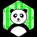 bear, face, happy, panda