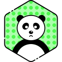 bear, face, panda, sad icon