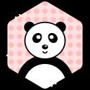 bear, face, panda, smile
