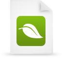 document, eco, eco-friendly, file, green, organic, paper icon