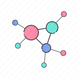 collaboration, communication, connection, network, nodes, share, social icon