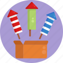 festival, parade, fireworks, decoration, celebration, party