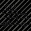 box, delivery, gift, seasonal, stylish, website, wrap
