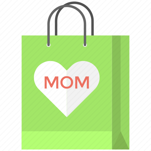 festival shopping, gift bag, mom shopping, mothers day, sale bag icon
