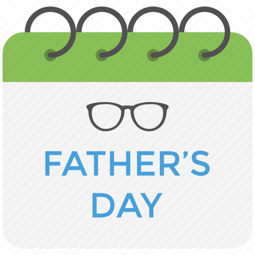 celebration, event calendar, father day, father honoring, parent day icon