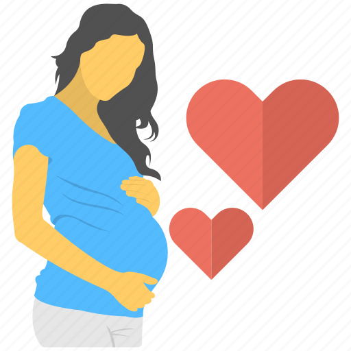mother love, mothercare, motherhood, pregnancy, pregnant women icon