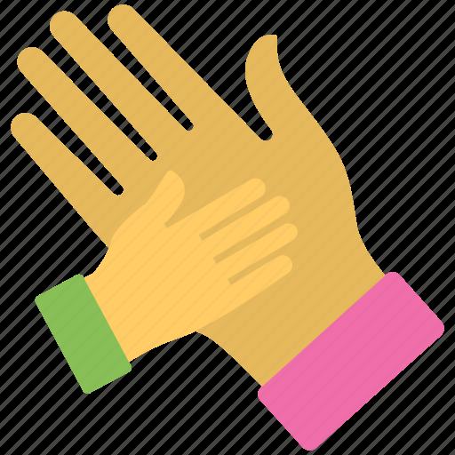 celebration, excitement, hi five, high five, human hands icon