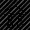 cloth, hanger, rack, tie, wardrobe icon